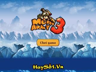 Game Mobi Army 3 Online